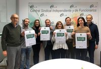 Actos de Día Internacional contra la Violencia de Género en CSIF.
