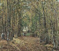 'El bosque de Marly', de Camille Pissarro.