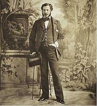 Olympe Aguado retrata a un dandy.