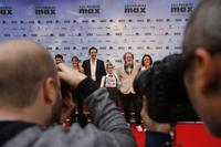 Alfombra roja de los premios MAX de artes escénicas en el Teatro Calderón