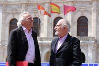 Álex Grijelo y José María Merino participan en la Feria del Libro de Valladolid