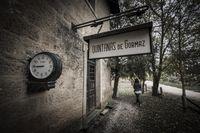 Quintanas de Gormaz, antigua estación de tren.