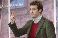 Acto de Pablo Casado en Albacete