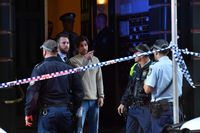 Knife attack in Sydney
