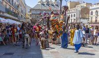 pasacalles del festival internacional folclore