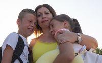 despedida a los niños ucranianos