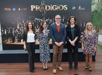 Presentación de la grabación íntegra de la primera temporada del programa de televisión Prodigios