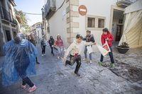 Baile de La Tizne de los Carnavales de La Adrada, San Blas.