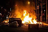 Al menos 15 heridos en los altercados de Barcelona