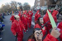 Desfile de Carnaval en Á?vila.