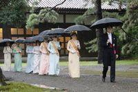 Proclamation ceremony of Japan's Emperor Naruhito in Tokyo
