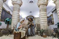 Fotos del Belén Monumental Egipcio
