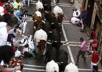 Los toros de Jandilla protagonizan el cuarto encierro de los sanfermines 2019