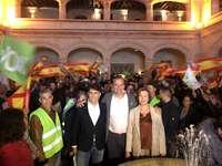 Vox pide el voto en Segovia frenar la política del odio