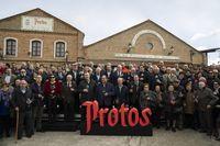 Celebración del acto 'Adiós a la Primera en la Ribera' en Protos.