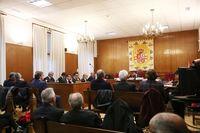 Inicio del juicio de las prejubilaciones de Caja Segovia.