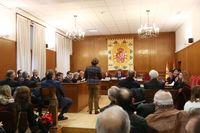 Sala de vistas de la Audiencia Provincial de Segovia.