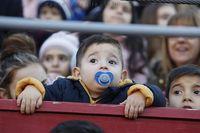 Miles de albacetenses presenciaron el desfile de Melchor, Gaspar y Baltasar
