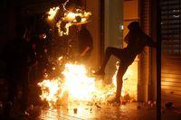 """Concentración """"Olimpiada Republicana"""" convocada por los CDR en Barcelona"""