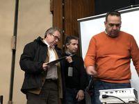 Pedro Trueba (izquierda), otro de los inversores.
