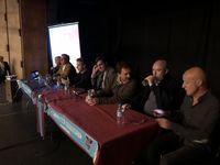 De izquierda a derecha, Paulino Jiménez, Pedro Trueba, Agustín Cuenca, José Lasa, Rafael López, Ramón Riva y Fernando Salas.