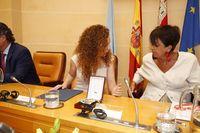 Toma de posesión de los concejales e investidura de Clara Luquero como alcaldesa de Segovia