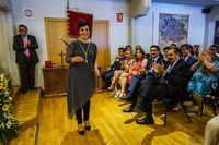 Constitución del ayuntamiento de ciudad real,, toma de posesion de la nueva coporación municipal de ciudad real, Pilar Zamora toma posesion como alcaldesa con Eva MarÁa MasÁas de Ciudadanos, elecciones municipales
