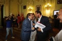 Primer pleno del Ayuntamiento de Valladolid