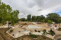 Obras en el parque Juan de Austria