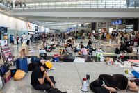 Flight operations resume at Hong Kong airport after chaotic anti-government protests