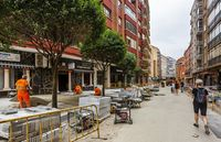 Obras en la calle Panaderos