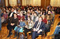 Acto institucional del Día Internacional de la Mujer en el Ayuntamiento de Valladolid