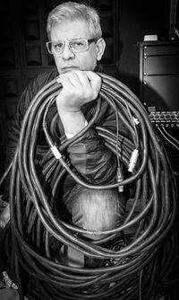 Pablo Cantalejo, técnico de sonido.