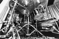 Ronny Vasques, percusionista.