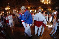 "Baile de ""La alpargata"""