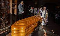 Capilla ardiente del Obispo Rafael Torija