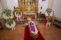 capilla ardiente del obispo Rafael Torija de la Fuente,fallecimiento del obispo Rafael Torija de La Fuente,muerte de Rafael Torija obispo de ciudad real