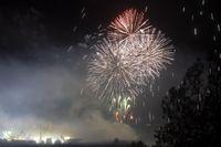 Fuegos artificiales La Santa 2019