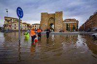 Tromba de agua en Ciudad Real