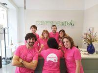Clínicas Dentales Sonrisalud se unen a la lucha contra el cáncer de mama.