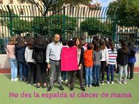 EL CEIP Los Vadillos también se suma a la campaña #XploraT sobre el cáncer de mama