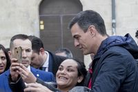 Sánchez hizo una visita guiada por la Seo burgalesa