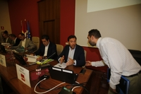 Debate electoral de los candidatos a la Alcaldía de Valladolid en la Facultad de Derecho