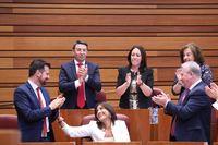 Sesión Constitutiva de las Cortes de Castilla y León de la X legislatura