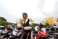 Albert Rivera mantiene una reunión con asociaciones de motoristas