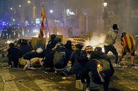 Huelga general en Cataluña en protesta por la sentencia del procés