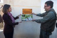 Reyes Maroto, visita el Parque Zoológico 'La era de las aves', de Fresno el Viejo