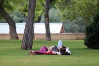 Altas temperaturas en Valladolid