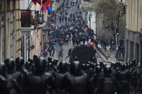 Protestas contra medidas económicas del Gobierno de Ecuador