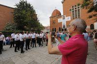 Procesión de la Virgen del Carmen en las Delicias